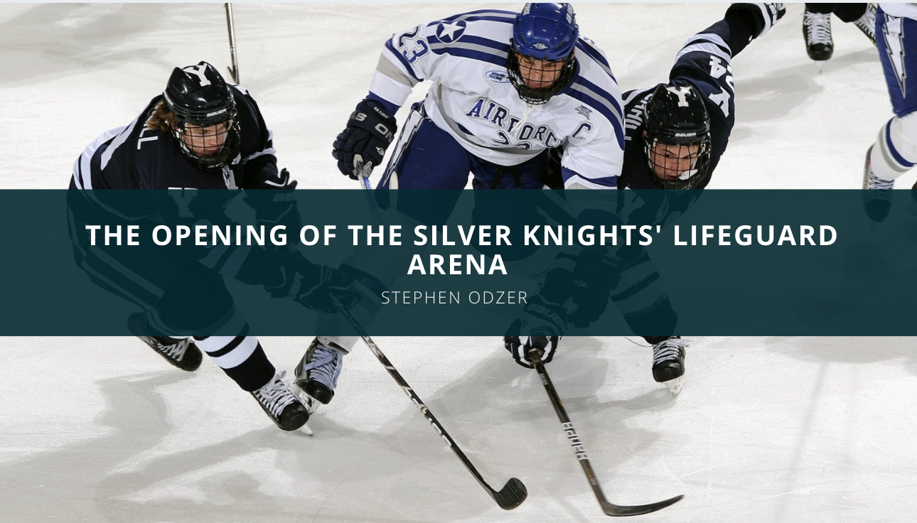 Stephen Odzer Discusses the Opening of the Silver Knights' Lifeguard Arena